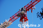 highrise construction crane image